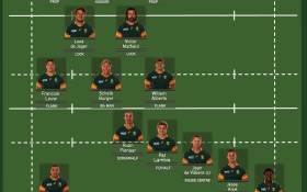 The Springbok squad to face Japan in their Rugby World Cup opener on Saturday.