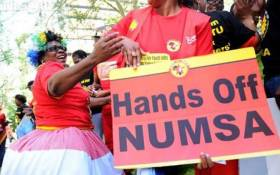 FILE: The demonstrators, who are affiliated to Numsa, claim government failed to pay UIF for months. Picture: EWN