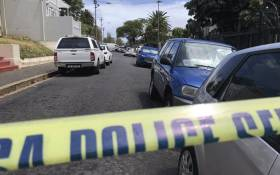 FILE: Police and forensic experts combing the scene of a shooting after prominent advocate Pete Mihalik was gunned down outside a Cape Town school on 30 October 2018. Picture: Kaylynn Palm/EWN.