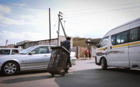 Nyaope is ravaging communities throughout South Africa. This image depicts a user doing odd jobs in Ebony Park in June 2021. Picture: Boikhutso Ntsoko/Eyewitness News