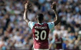 West Ham United Michail Antonio. Picture: @WestHamUtd.