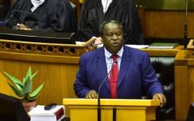 FILE: Finance Minister Tito Mboweni. Picture: Picture: GCIS