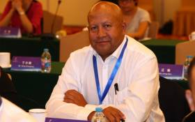 Fedusa's general secretary Dennis George. Picture: @Dennis_G1/Twitter
