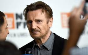 Liam Neeson attends the Netflix's 'The Ballad of Buster Scruggs' NYFF Red Carpet Premiere at Alice Tully Hall on 4 October 2018 in New York City. Picture: Getty Images for Netflix/AFP.