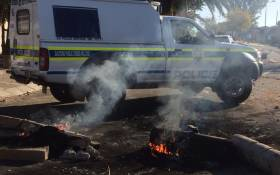 FILE: Police say they have deployed additional members of the Public Order Policing Unit to the area. Picture: @nkosi_milton.