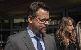 FILE: AfriForum's Ernst Roets outside the Johannesburg Magistrates Court on 21 August 2019. Picture: Abigail Javier/EWN