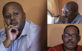 Lungelo, Norman and Stephen - the grandsons of the late Chief Albert Luthuli. The Luthuli family is currently in a legal battle to get access to their own land. Picture: Abigail Javier/EWN