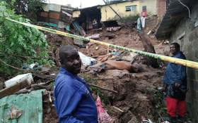 A damaged home in Welbedacht, KwaZulu-Natal after heavy rainfall on 23 April 2019. Picture: @GiftOftheGivers/Facebook