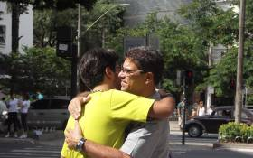 Picture: Hugging is one of the only ways some people who struggle with anxiety can feel some respite. Picture: Ricardo Moraleida/Flickr