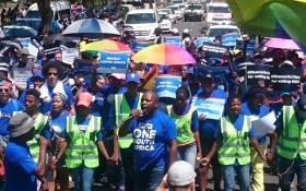 The Democratic Alliance's Rain Network march on 27 November 2018. Picture: @DA_LGBTI/Twitter