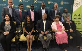 Cape Town Mayor Dan Plato and his new mayoral committee on 11 November 2018. Picture: Monique Mortlock/EWN