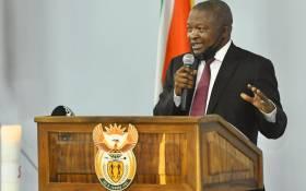 Deputy President David Mabuza. Picture: @DDMabuza/Twitter