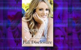 A screengrab of adult film actress Stormy Daniels's book in which she details her alleged affair with US President Donald Trump.