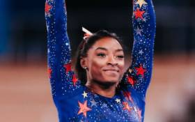 American gymnastics superstar Simone Biles at the Tokyo 2020 Olympic games. Picture: Twitter/@TeamUSA