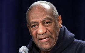 "Dr. Bill Cosby moderates a town hall meeting titled ""A Conversation with Bill Cosby,"" at Wayne Community College in Detroit, Michigan on Thursday 13 January 2005. Picture: EPA."