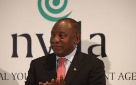 President Cyril Ramaphosa addresses young people ahead of the 2020 State of the Nation Address at Cape Town International Convention Centre on 12 February 2020. Picture: Kayleen Morgan/EWN.