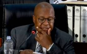 A screengrab of former Eskom CEO Brian Molefe appearing at the state capture inquiry on 2 March 2021. Picture: SABC/YouTube