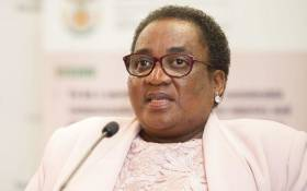 Minister of Labour Mildred Oliphant. Picture: GCIS