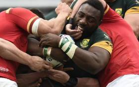 FILE: Tendai Mtawarira during the Springboks vs Wales match. Picture: Rugby World Cup @rugbyworldcup.