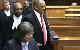 Cape Town mayor Patricia de Lille arriving in court with her legal team on 4 June 2018. Picture: Kevin Brandt/EWN