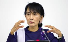 FILE: Myanmar's civilian leader Aung San Suu Kyi. Picture: United Nations Photo.
