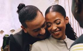 FILE: Kiernan 'AKA' Forbes (left) with his late fiance Anele 'Nellie' Tembe (right). Picture: @AKAworldwide/Instagram.