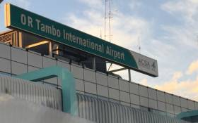 A general view of OR Tambo International Airport in Johannesburg. Picture: Zamangwane Shange/EWN