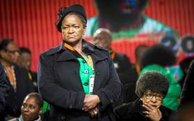 Bathabile Dlamini at the opening of the ANC NPC at Nasrec. Picture: Thomas Holder/EWN