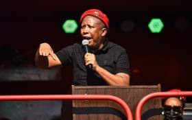 FILE: EFF leader Julius Malema. Picture: @EFFSouthAfrica/Twitter.