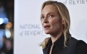 In this file photo, US actress Uma Thurman attends the 2020 National Board Of Review Gala on 8 January 2020 in New York City. Picture: Angela Weiss/AFP