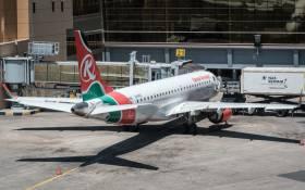 FILE: A Kenya Airways plane. Picture: AFP