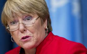 FILE: United Nations human rights chief Michelle Bachelet. Picture: United Nations Photo.