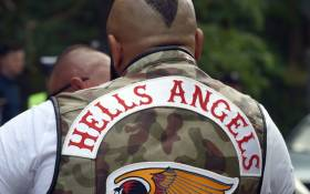 A Hells Angels biker. Picture: AFP