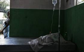 FILE: A view of a cholera treatment centre visited by the United Nations. Picture: United Nations