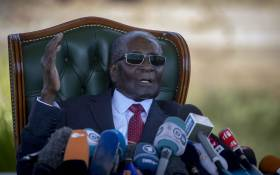 FILE: The late Robert Mugabe. Picture: EWN