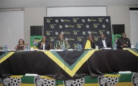 The African National Congress (ANC)'s top six at the party's lekgotla in Centurion on 19 January 2020. Picture: @MYANC/Twitter