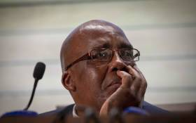 FILE: Minister of Health Aaron Motsoaledi breaks down the NHI Bill. Picture: Thomas Holder/EWN