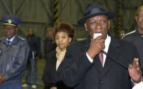 Police Minister Bheki Cele addresses a parade before police deployment in Philippi East, Cape Town on 12 July 2019. Picture: @SAPoliceService/Twitter