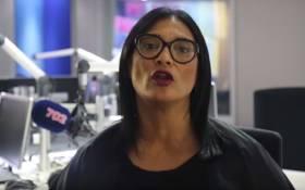 A screengrab of journalist Karima Brown.