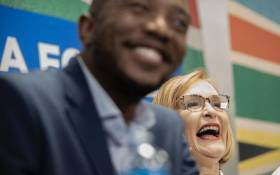 DA leader Mmusi Maimane seen on 20 October 2019 after Helen Zille was announced as the party's new Federal Council chair. Picture: Sethembiso Zulu/EWN.
