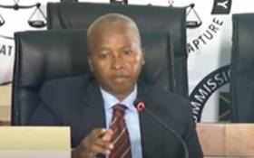 A screenshot of acting director general of state security Loyiso Jafta at the state capture commission on Tuesday, 27 January 2021. Picture: SABC Digital News/ YouTube