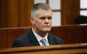 Wife killer Jason Rohde sits in the Western Cape High Court during sentencing proceedings on 27 February 2019. Picture: Bertram Malgas/EWN