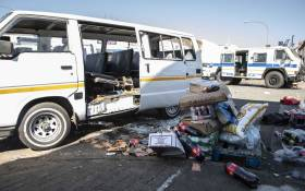 Several shops were looted and set alight in Malvern and Denver on 1 September 2019. Picture: Abigail Javier/EWN