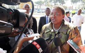 FILE: Faith Mazibuko, the Gauteng MEC for Sport' Arts' Culture and Recreation. Picture: EWN
