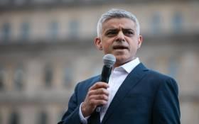 The Mayor of London, Sadiq Khan. Picture: AFP