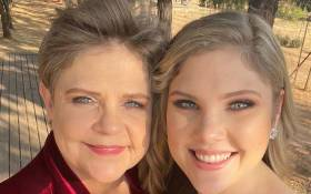 Hannelie Snyman (left) and her daughter, Petroné Krüger. Picture: Supplied