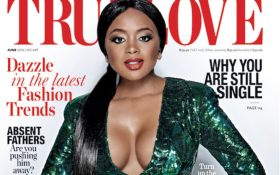 'True Love' magazine's latest cover has stirred an angry reaction from readers and social media users. Picture: Facebook.