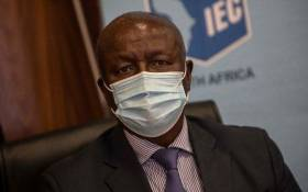 Former Deputy Chief Justice Dikgang Moseneke at an IEC press briefing in Centurion, Johannesburg on 20 May 2021. Picture: Abigail Javier/Eyewitness News