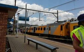 The scene of the train crash at Mountainview station in Pretoria on 8 January 2019. Picture: Kayleen Morgan/EWN
