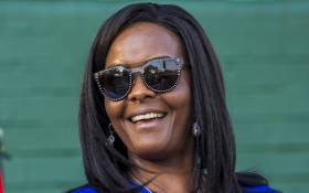Former Zimbabwe first lady Grace Mugabe attends the opening of the annual agricultural fair on 25 August 2017 in Harare. Picture: AFP